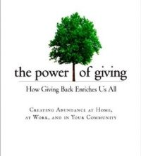 The Power of Giving book cover
